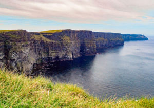 Roxanna and her son visited the cliffs of Moher as part of her 50th birthday trip to Ireland