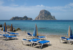 Marta celebrated her 21st birthday in Ibiza, a fantastic beach and party island in Spain