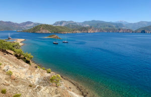 As part of Jessica's epic birthday trip around Turkey, she spent two days sailing around the Turquoise Coast