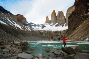 Philip spent his 31st birthday hiking the O Circuit in Patagonia