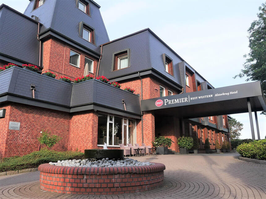 The Best Western Premier Alsterkrug is a great place to stay in Hamburg for families