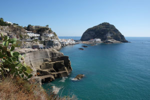 The gorgeous little fishing village of Sant'Angelo on the southern coast of Ischia