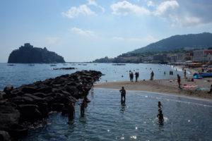 Spiaggia dei Pescatori (Fishermen's Beach) in Ischia Ponte
