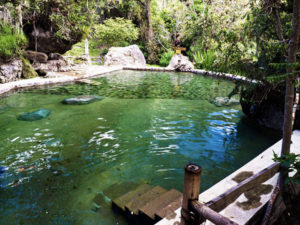 The Salinas hot springs in Coconuco, Colombia