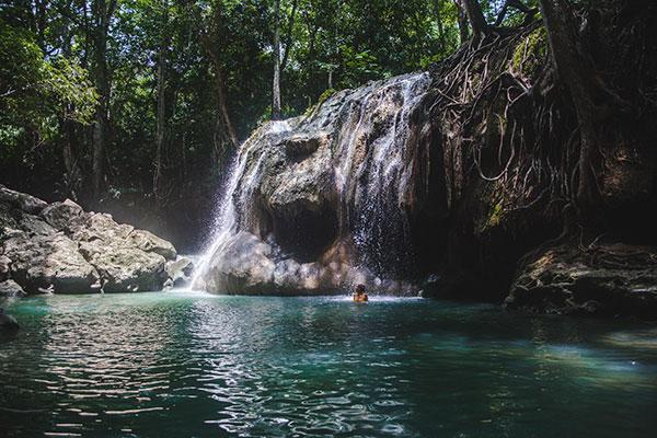 Finca el Paraìso hot springs, Guatemala