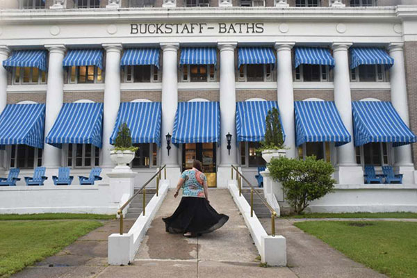 The Buckstaff Baths in Hot Springs Arkansas