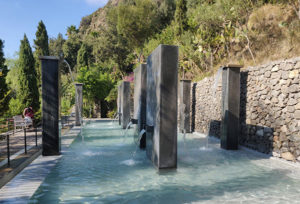 The Negombo thermal spa in Ischia, Italy