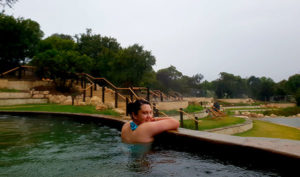 There are over fifty thermal pools at Peninsula Hot Springs, so it's easy to find one you can have to yourself