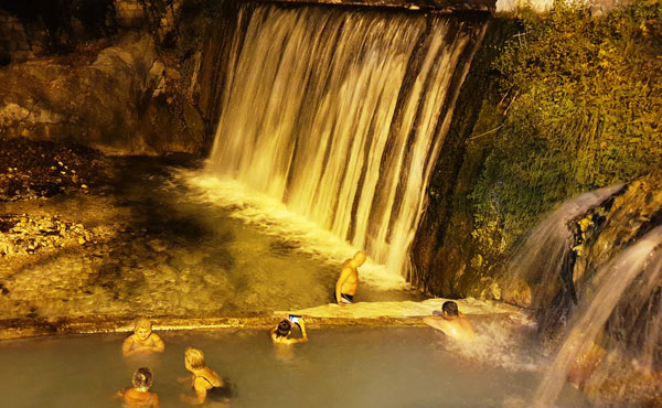 The Pozar thermal baths, near Thessaloniki, Greece
