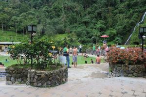 The hot springs and thermal baths at Santa Rosa Cabal, Colombia