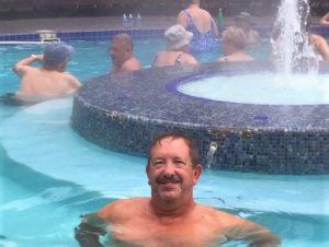 Sol Du Lac hot springs, Oregon