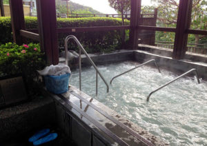 Spring City Resort in Taipei has thermal baths suitable for the whole family