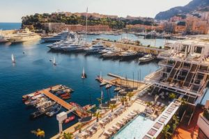Superyachts in the harbour in Monaco Image by David Mark from Pixabay.