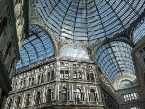 Galleria Umberto I, Naples. Image by Olga Kropman on Pixabay.