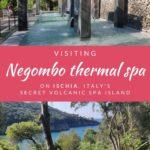 Visiting Negombo thermal spa