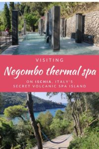 Visiting Negombo thermal spa