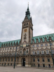 Hamburg's Rathaus (city hall)