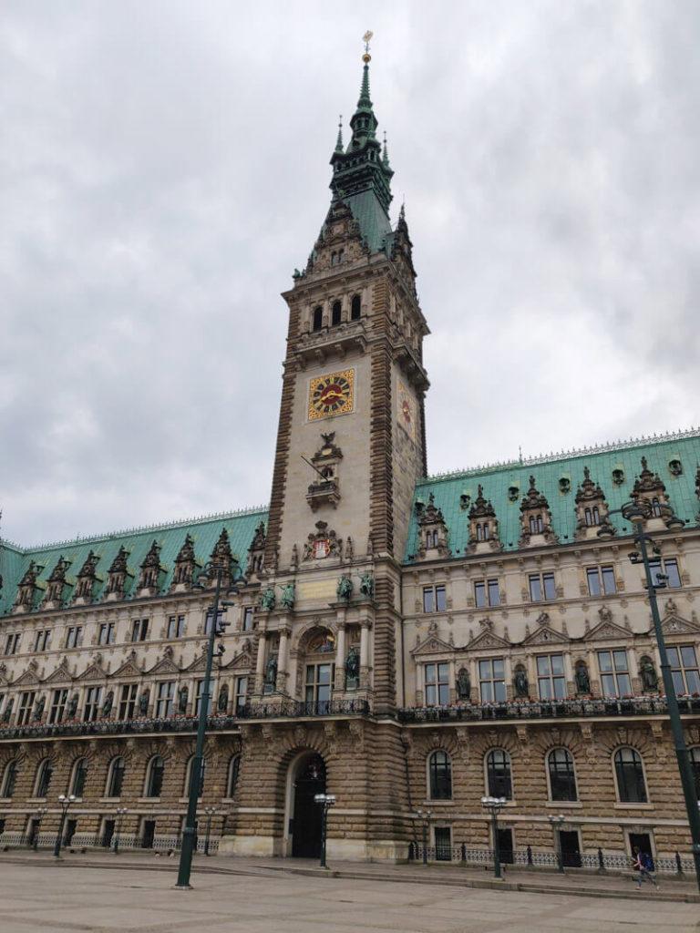 Hamburg's Rathaus (city hall)