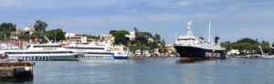 How to get the ferry from Naples to Ischia
