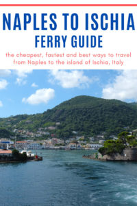 Naples to Ischia ferry guide