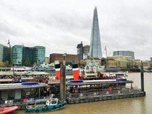 Take a trip down the Thames on a paddle steamer