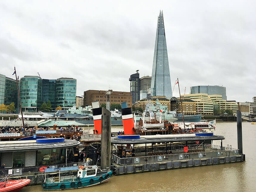 Take a trip down the Thames on a paddle steamer