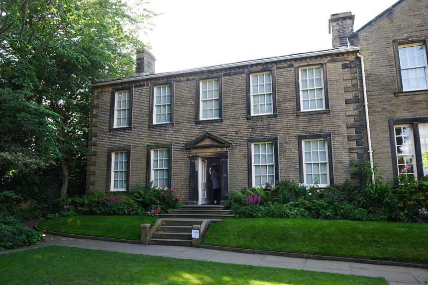 The house where the Brontë sisters lived in Haworth is now the Brontë Parsonage Museum