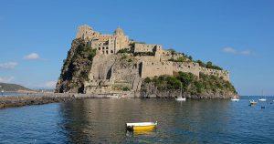 Visiting Castello Aragonese, Ischia