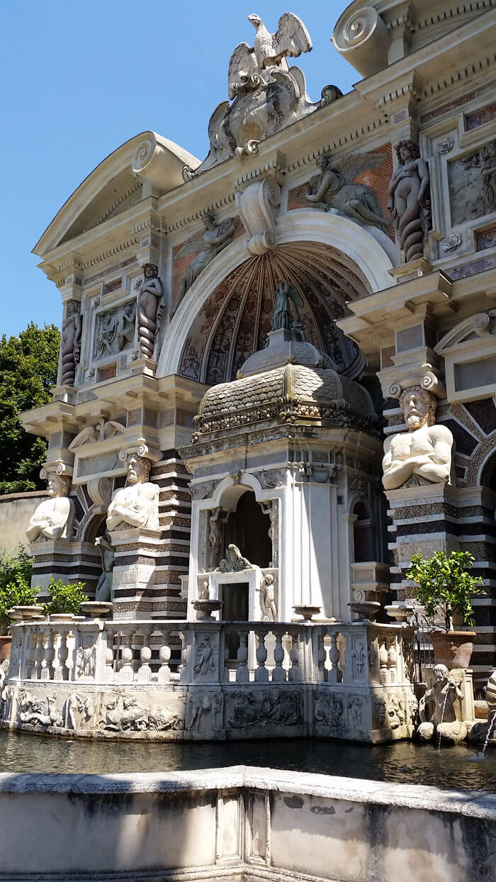 The Villa d'Este gardens are better known as the Tivoli gardens