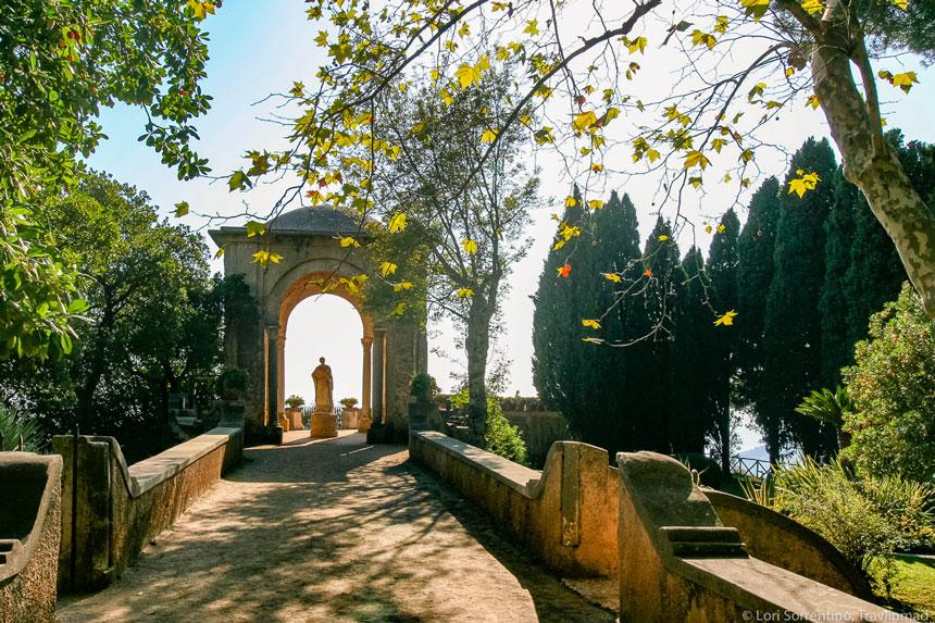 Villa Cimbrone, in Ravello on the Amalfi Coast