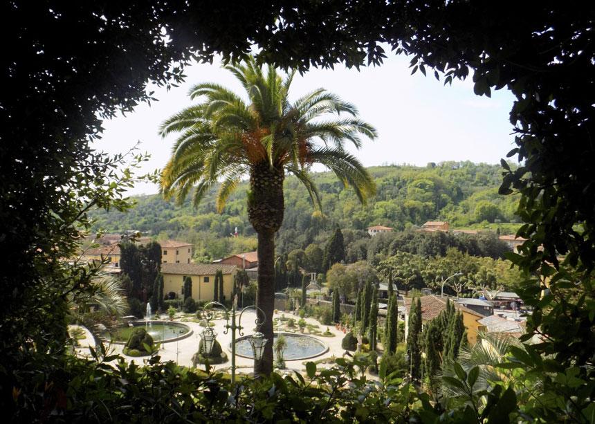 The Villa and Gardens Garzoni, near Lucca