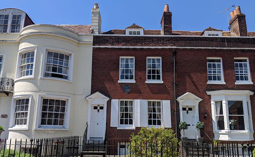 Authors' houses