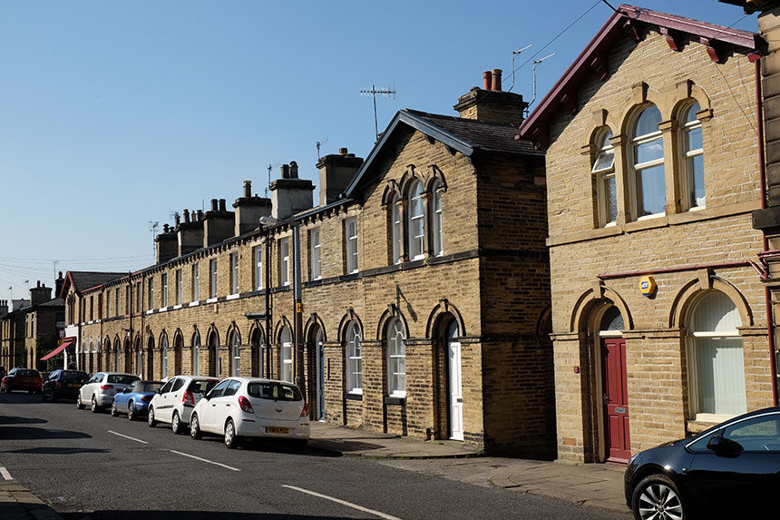 Workers' cottages in Saltaire