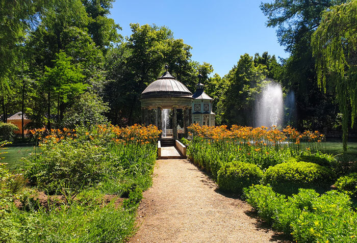 The historic Aranjuez gardens