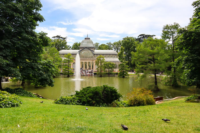 The Retiro park used to be part of the Spanish Royal Family's gardens