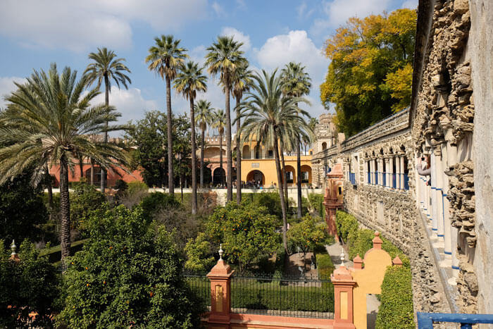 The Real Alcázar de Seville is one of the most beautiful gardens in Spain