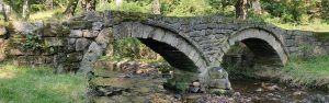 The Pack Horse bridge in Wycoller