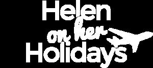 Helen on her Holidays logo