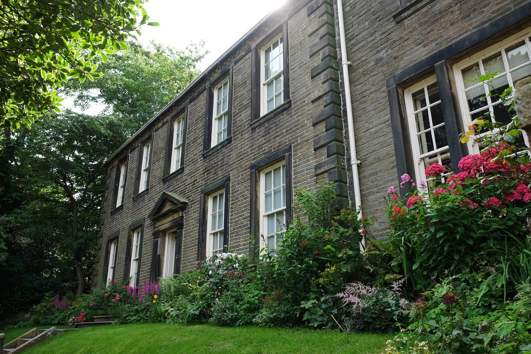 The Brontë Parsonage Museum in Haworth