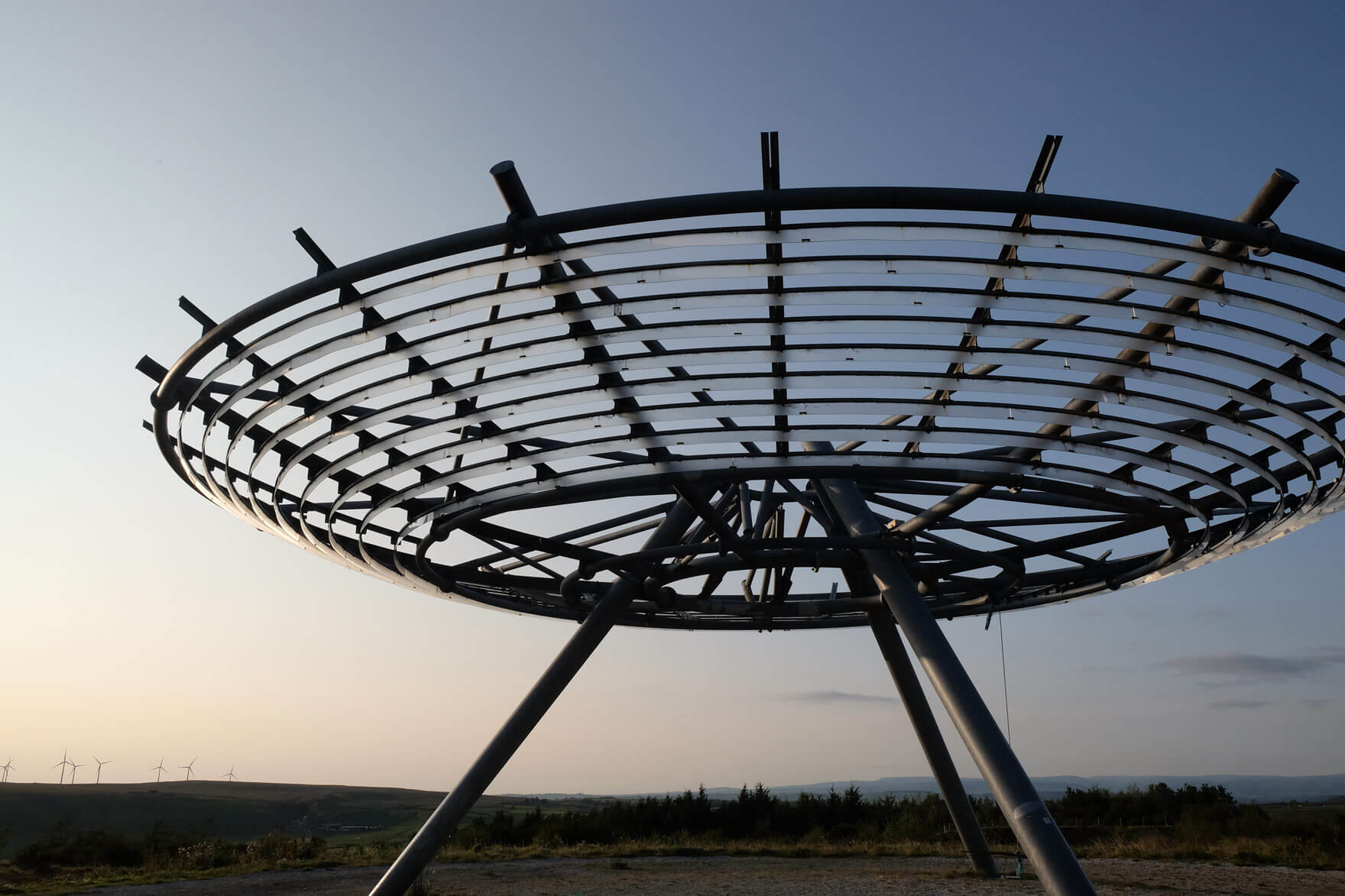 The Halo Panopticon in Haslingden, Rossendale