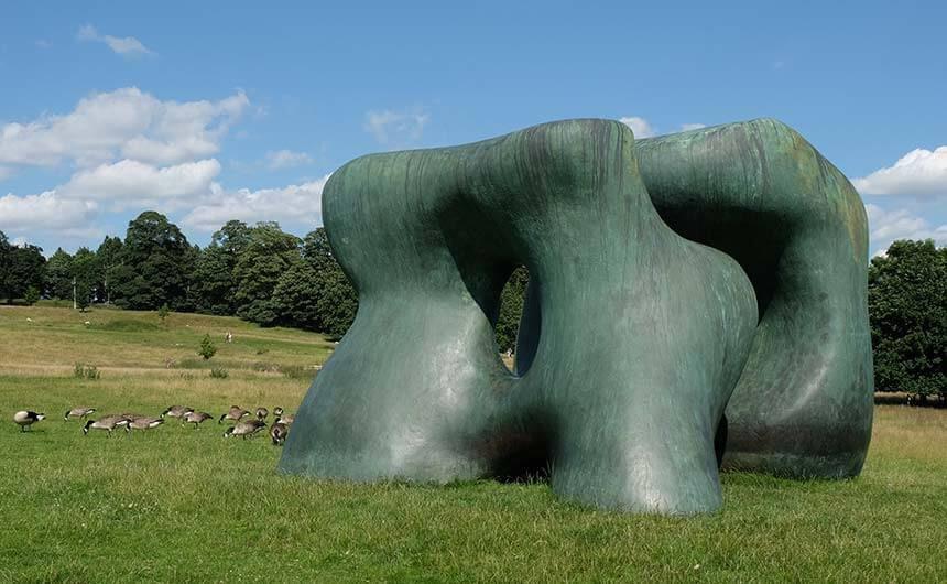 Visiting Yorkshire Sculpture Park